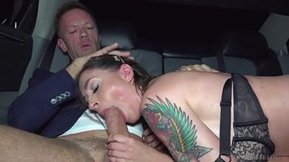 Major dude took a tattooed prostitute and now the bitch fuck in all holes