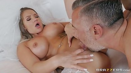 Anal sex boy with Busty bride in her wedding day