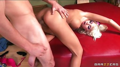 Mature blonde with silicone Tits loves when her tear up as tough as possible